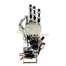5DOF Humanoid Five Fingers Metal Manipulator Arm Right Hand with A0090 Servos