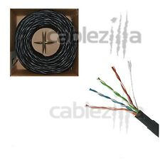 Cat5 1000FT UTP Outdoor Direct Burial UV Waterproof rate Cable Network Pull Box