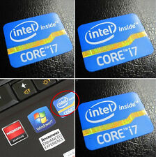 2x Intel Core i7 Inside Sticker Badge 2nd 3rd Generation DESKTOP Logo 25 x 18mm