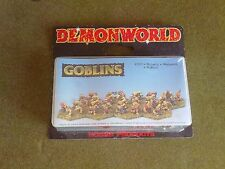 Goblins Demonworld 15mm Fantasy figures New Unpainted