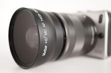 Wide Angle Macro Lens For Canon Eos Digital Rebel M 3 2 10 EF-M18-55mm IS & STM