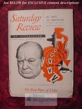 Saturday Review November 25 1950 WINSTON CHURCHILL ROBERT SPILLER MELVILLE CANE