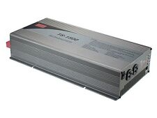 MEAN WELL TS-1500-124F 1500 WATT 24 VOLT PURE SINE INVERTER WITH GFCI OUTLETS
