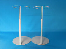 """DOLL STANDS LARGE KAISER FITS 18"""" + LARGE DOLLS AMERICAN GIRL 7"""" BASE"""