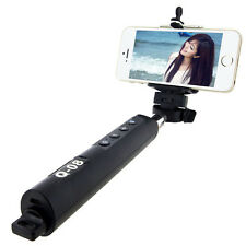 Bluetooth Extensible Télescopique Portable Support Monopode Bâton Selfie Avec