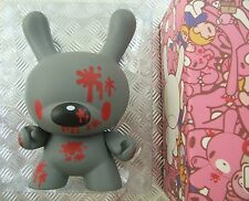 "Kidrobot GLOOMY BEAR 8"" DUNNY Grey Chase MORI CHACK Vinyl Art Figure kawaii UK"