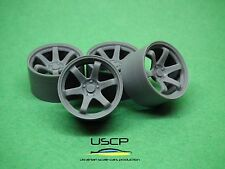 Resin wheels 19 inch Rota IK-R 1/24 for Aoshima Fujimi Tamiya