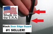 CHEVROLET Trim molding protectors (USA made!)(4 Door Kit) BLACK DOOR EDGE GUARDS
