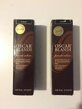 Oscar Blandi Root Touch-up Highlighting Pen~Jet Black~.16 oz each NIB-LOT OF 2
