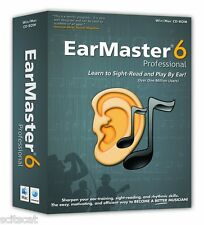 New Arobas Music EarMaster Professiona 6 Guitar Windows & Mac Software eDelivery