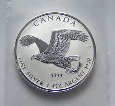 2017 1oz Canadian Silver Bald Eagle Reverse Proof Coin