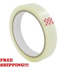 12 BIG-Rolls Of CLEAR STRONG Parcel Tape Packing sellotape Packaging 25mm x 66m
