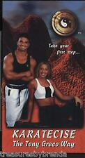 Karatecise The Tony Greco Way Karate Exercise Fitness Video VHS