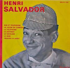 ++HENRI SALVADOR gin et television/leçon de comedie/le distrait EP PERGOLA VG++