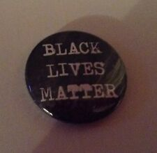 BLACK LIVES MATTER Pin Button Badge 25mm Malcolm X Martin Luther King Jr Justice