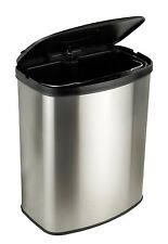 NEW 2.1 Gallon Touch Free Sensor Automatic Stainless Steel Trash Can Kitchen