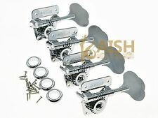 Wilkinson Vintage Bass Tuners Tuning Keys Machine Heads for P Bass J Bass Chrome