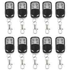 10 x Universal Cloning Remote Control Key Fob Electric Gate Garage Door 433mhz