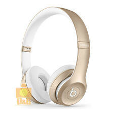 New Boxed Beats by Dr. Dre Solo 2 BlueTooth Wireless Gold Edition Headphones