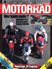 M9218 + HONDA VFR 750 vs SUZUKI DR Big 800 S + YAMAHA TDM 850 + MOTORRAD 18 1992