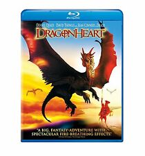 DRAGONHEART (Dennis Quaid)  - BLU RAY - Region free - Sealed