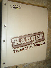 1983 FORD RANGER ENGINE ELECTRICAL BODY CHASSIS FACTORY SERVICE MANUAL SHOP