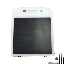 Blackberry Q10 LCD Touch Screen Glass Assembly White Display w/ Frame