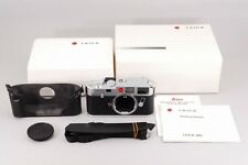 TOP MINT!!! Leica M6 non-TTL Camera Original Box and Hard Cae From JAPAN #0879