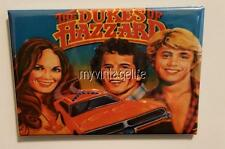 "Vintage Dukes of Hazzard metal Lunchbox 2"" x 3"" Fridge MAGNET"