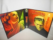 Custom Made Famous Monsters Of Filmland Frankenstein Binder Graphics Only