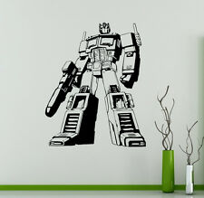 Transformers Autobots Vinyl Decal Optimus Prime Vinyl Stickers Home Interior 13