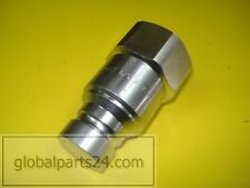 "JCB 3CX 4CX PARTS - Coupling 1""BSP male quick release (No. 45/910200)"