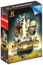 Cofanetto Mankind Grande Storia dell'Uomo 4 DVD History Channel