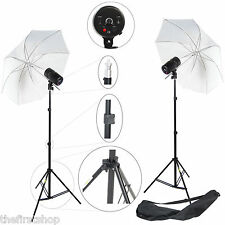 Flash Studio Pro DynaSun 2x CY100KIT 100W Kit di 2x Flash 2x Ombrello 2x Stativo