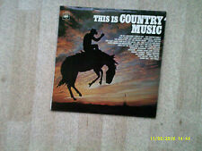 This is Country Music (12 track LP)