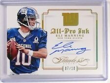 2014 Panini Flawless All-Pro Ink Eli Manning autograph auto #D07/10 #5 *52438