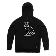 Drake Hotline Bling October's Very Own1 OVO Silver Owl Hoodie Sz L RARE SOLD OUT