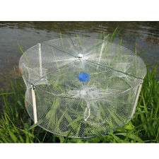 """13"""" Portable Fishing Net Fish Shrimp Minnow Crab Bait Mesh Trap Cast Cage Best"""