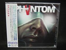 PHANTOM 5 ST + 1 JAPAN CD Scorpions Bonfire Mad Max Casanova Jaded Heart