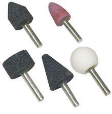 5 meules pierres abrasives pour poncer pour perceuse visseuse pour métaux verre