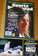 GREEN BAY PACKERS BRETT FAVRE 4 SIGNED Love of the Game SPORTS ILLUSTRATED COA