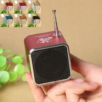 #c Portable Micro SD TF USB Mini Stereo Speaker Music Player FM Radio PC MP3 /4