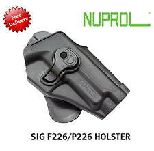 NEW NUPROL Retention Holster SIG P226 Fits Airsoft WE F226 & Tokyo Marui P226