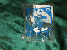 2011 McDonald's SMURFS - GUTSY SMURF Figure Happy Meal Toy # 8