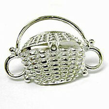 Expressions Convertible Bracelet Clasp Nantucket Basket Sterling Silver