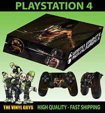 PS4 Skin Mortal Kombat X Mileena Masked Warrior Sticker + Pad decals Vinyl LAID