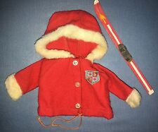Ideal Tammy Family Outfit Snow Bunny Red Coat #9211-4 #9956-4 Ski TAG