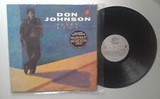 "Don Johnson ""Heartbeat"" LP GAT EPIC EPC 450103 1 Holland 1986 VG+/VG"