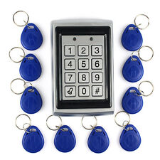 Metal RFID Door Access Control with 10pcs Fobs Alarm Support 1000 Users Hot sale