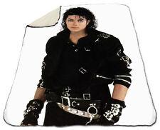 Michael Jackson Winter Blanket NEW Fleece Warm Soft Bad Dirty Diana Christmas
